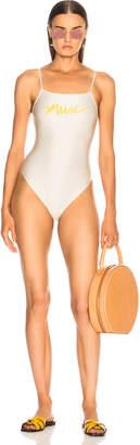 Adriana Degreas Muse High Leg Swimsuit