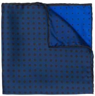Lanvin polka dot gradient scarf