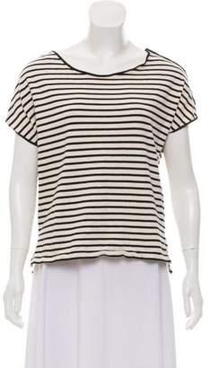 Apiece Apart Crew Neck Stripe T-Shirt