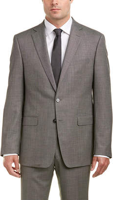 Calvin Klein 2Pc Wool Suit With Flat Front Pant