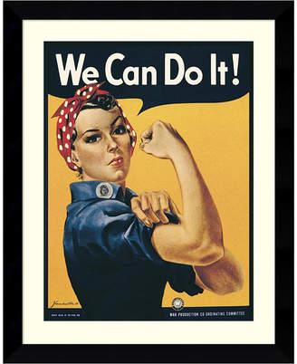 Amanti Art Rosie The Riveter Framed Art Print