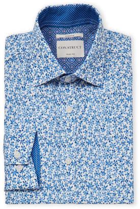 Con.Struct Floral Long Sleeve Dress Shirt