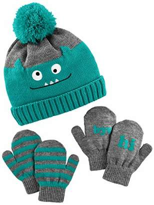 Carter's Simple Joys by Boys' Hat and Mitten Set