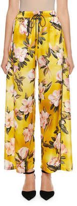 F.R.S For Restless Sleepers Apate Cabotine Plumeria Print Pants