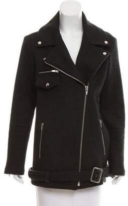 Veda Wool Biker Jacket