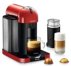 Nespresso Vertuo Coffee Machine and Milk Frother BNV250RED1BU