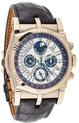 Roger Dubuis Sympathie Bi Retro Perpetual Calendar Chronograph Watch