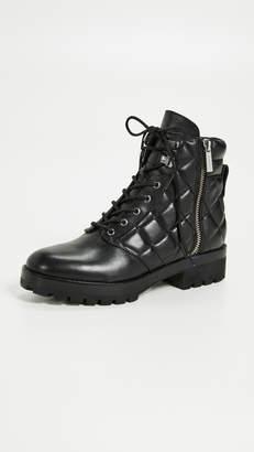 MICHAEL Michael Kors Rosario Quilted Combat Boots