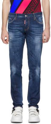 DSQUARED2 Blue Basic Slim Jeans
