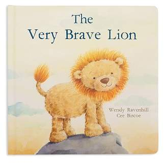 Jellycat The Very Brave Lion Book - Ages 0+