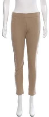 Joseph Mid-Rise Skinny Pants Khaki Mid-Rise Skinny Pants