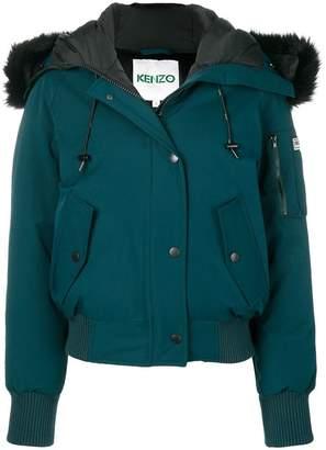 Kenzo hooded Puffa jacket
