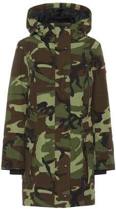 Canada Goose Kinley camouflage down parka