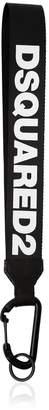 DSQUARED2 (ディースクエアード) - DSQUARED2 ワックスコットン ロゴキーホルダー