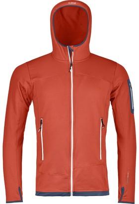 Ortovox Merino Fleece Light Hooded Jacket - Men's