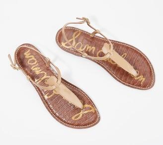 Sam Edelman T-Strap Thong Sandals - Gigi