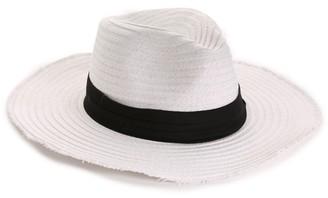 Steve Madden Frayed Edge Women's Panama Hat