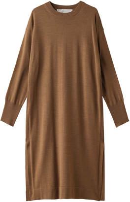 Adawas アダワス ウールニットドレス