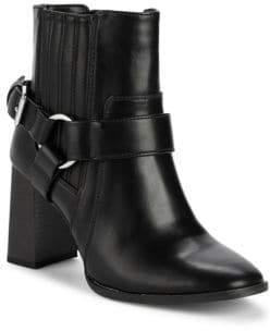 BCBGeneration Agnes Stack Heel Moto Boots