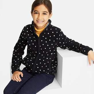 Uniqlo Girl's Printed Fleece Long-sleeve Jacket