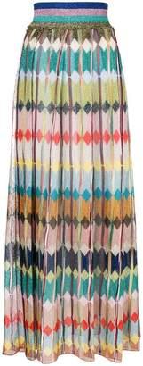Missoni diamond knitted maxi skirt