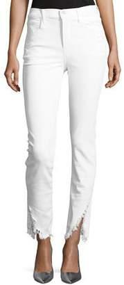 3x1 W3 High-Rise Higher-Ground Slash Slim Crop Jeans
