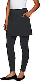 Legacy French Terry Ankle Length SkirtedLeggings
