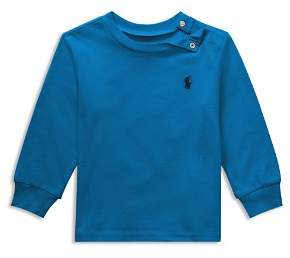 Ralph Lauren Boys' Long-Sleeve Cotton Tee - Baby