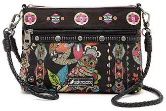 Sakroots Artist Circle Campus Mini Crossbody Bag