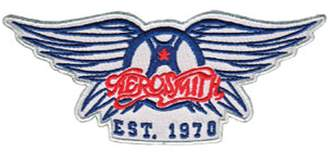 "Christian Dior C&D Aerosmith Band Iron on Patch - ""Est. 1970"" Wings Classic Vintage Logo Design Applique"