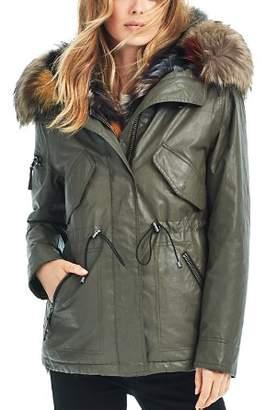 SAM. Multi Mini Luxe Limelight Fur Vest & Parka