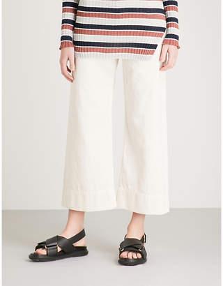 Apiece Apart Merida wide-leg cotton trousers