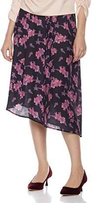 Suite Alice Women's Asymmetrical Floral Midi Skirt