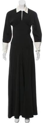 Isaac Mizrahi Long Sleeve Wide-Leg Jumpsuit