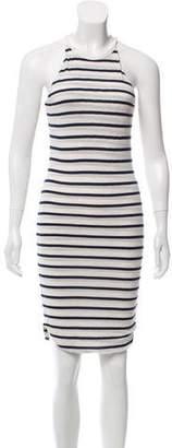 LnA Striped Knit Dress