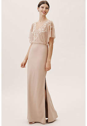 Aidan Mattox Broadway Wedding Guest Dress