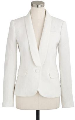 Collection tuxedo jacket in Italian linen