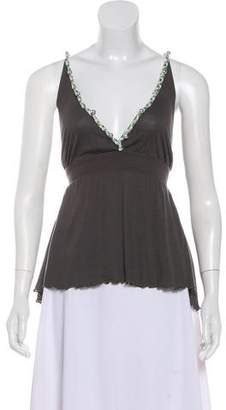 See by Chloe Sleeveless Embroidered Top
