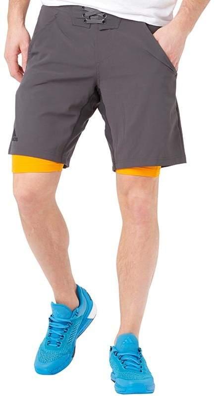 Herren Adizero Climacool Tennis Shorts Orange