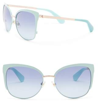 Kate Spade Genice 67mm Square Sunglasses