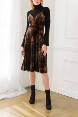 Mystree Annamarie Velvet Dress