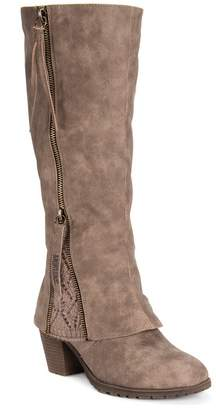 Muk Luks Lacy Water-Resistant Tall Boot