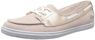 Lacoste Women's Ziane Deck 116 1 Fashion Sneaker $50.26 thestylecure.com