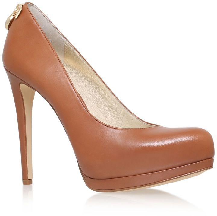 michael kors hamilton high heeled court shoes women. Black Bedroom Furniture Sets. Home Design Ideas