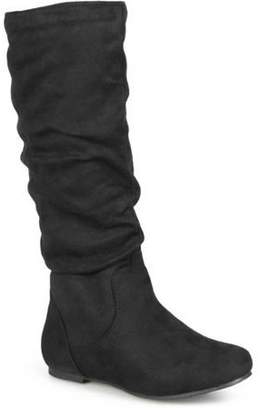 Brinley Co. Women's Slouchy Microsuede Boots