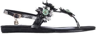 Laura Biagiotti Toe strap sandals - Item 11570693OR