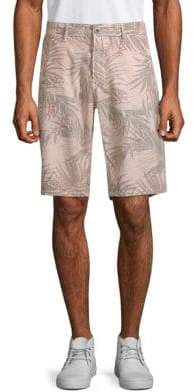 Original Paperbacks Havana Printed Linen & Cotton Shorts