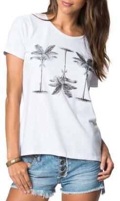 Women's O'Neill Pretty Palms Tee $28 thestylecure.com
