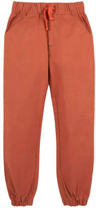 Andy & Evan Twill Jogger Pants, Size 3-24 Months