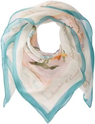 Lauren Ralph Lauren Loreta Silk Square Scarf Scarves